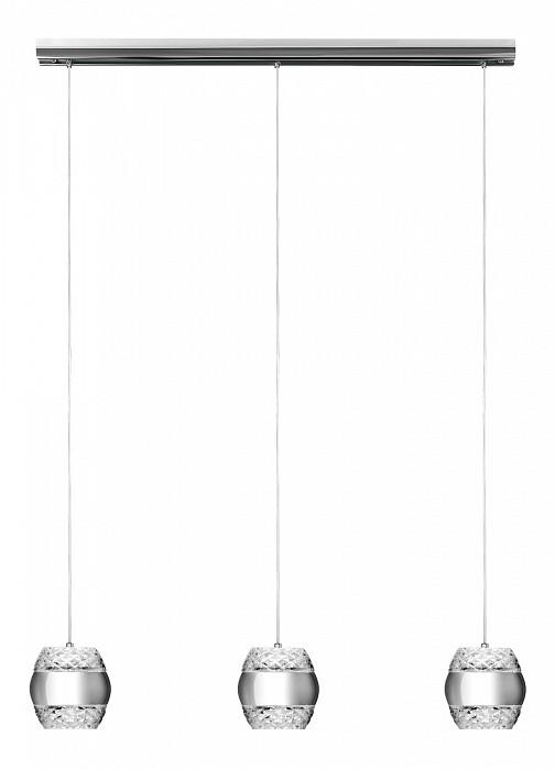 Подвесной светильник MantraБарные<br>Артикул - MN_5168,Бренд - Mantra (Испания),Коллекция - Khalifa,Гарантия, месяцы - 24,Длина, мм - 920,Ширина, мм - 140,Высота, мм - 220-1500,Тип лампы - светодиодная [LED],Общее кол-во ламп - 6,Максимальная мощность лампы, Вт - 12,Цвет лампы - белый теплый,Лампы в комплекте - светодиодные [LED],Цвет плафонов и подвесок - неокрашенный, хром,Тип поверхности плафонов - глянцевый, прозрачный,Материал плафонов и подвесок - металл, стекло,Цвет арматуры - хром,Тип поверхности арматуры - глянцевый,Материал арматуры - металл,Количество плафонов - 6,Возможность подлючения диммера - нельзя,Цветовая температура, K - 3000 K,Световой поток, лм - 3240,Экономичнее лампы накаливания - в 2.9 раза,Светоотдача, лм/Вт - 45,Класс электробезопасности - I,Напряжение питания, В - 220,Общая мощность, Вт - 72,Степень пылевлагозащиты, IP - 20,Диапазон рабочих температур - комнатная температура,Дополнительные параметры - способ крепления светильника к потолку - на монтажной пластине, размер плафона 140х153мм<br>