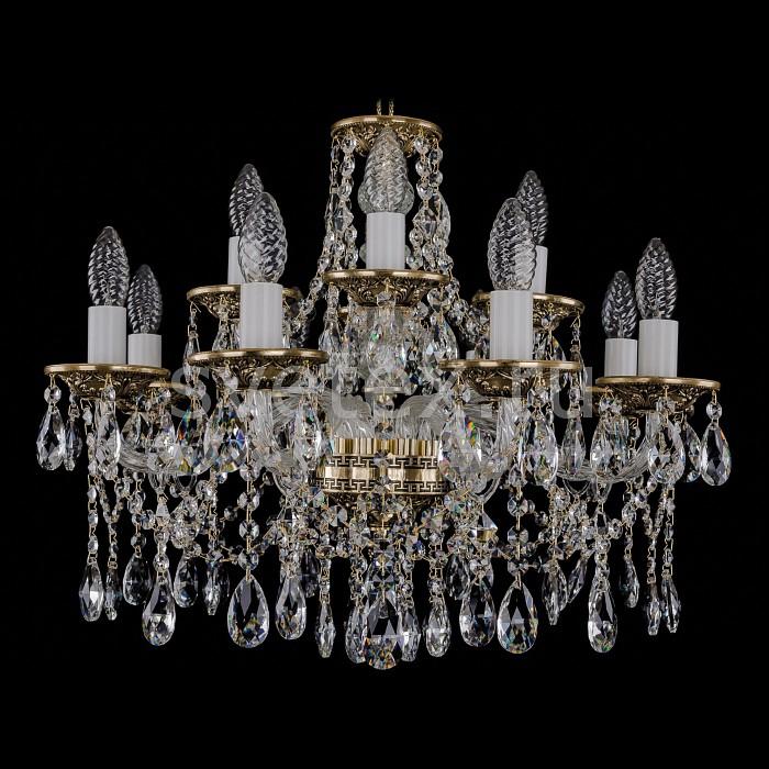 Фото Подвесная люстра Bohemia Ivele Crystal 1613 1613/8_4/200/GB