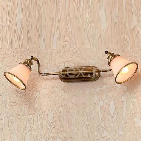 Спот CitiluxСпоты<br>Артикул - CL511523,Бренд - Citilux (Дания),Коллекция - Прованс,Гарантия, месяцы - 24,Время изготовления, дней - 1,Длина, мм - 300,Выступ, мм - 150,Размер упаковки, мм - 340x200x130,Тип лампы - компактная люминесцентная [КЛЛ] ИЛИнакаливания ИЛИсветодиодная [LED],Общее кол-во ламп - 2,Напряжение питания лампы, В - 220,Максимальная мощность лампы, Вт - 60,Лампы в комплекте - отсутствуют,Цвет плафонов и подвесок - белый с бронзовой каймой,Тип поверхности плафонов - матовый,Материал плафонов и подвесок - стекло,Цвет арматуры - бронза,Тип поверхности арматуры - матовый,Материал арматуры - металл,Количество плафонов - 2,Возможность подлючения диммера - можно, если установить лампу накаливания,Тип цоколя лампы - E14,Класс электробезопасности - I,Общая мощность, Вт - 120,Степень пылевлагозащиты, IP - 20,Диапазон рабочих температур - комнатная температура,Дополнительные параметры - поворотный светильник<br>