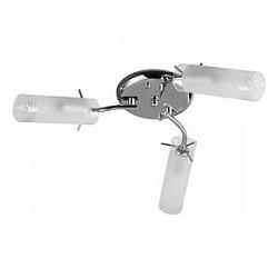 Потолочная люстра TopLightНе более 4 ламп<br>Артикул - TPL_TL7130X-03CH,Бренд - TopLight (Россия),Коллекция - Brittany,Гарантия, месяцы - 24,Высота, мм - 160,Диаметр, мм - 500,Размер упаковки, мм - 160x210x220,Тип лампы - компактная люминесцентная [КЛЛ] ИЛИнакаливания ИЛИсветодиодная [LED],Общее кол-во ламп - 3,Напряжение питания лампы, В - 220,Максимальная мощность лампы, Вт - 40,Лампы в комплекте - отсутствуют,Цвет плафонов и подвесок - белый с неокрашенным каймой,Тип поверхности плафонов - матовый,Материал плафонов и подвесок - стекло,Цвет арматуры - хром,Тип поверхности арматуры - глянцевый,Материал арматуры - металл,Возможность подлючения диммера - можно, если установить лампу накаливания,Форма и тип колбы - свеча,Тип цоколя лампы - E14,Класс электробезопасности - I,Общая мощность, Вт - 120,Степень пылевлагозащиты, IP - 20,Диапазон рабочих температур - комнатная температура,Дополнительные параметры - способ крепления светильника к потолку - на монтажной пластине<br>
