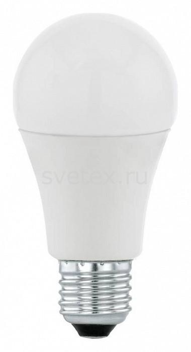 Лампа светодиодная Egloлампы энергосберегающие светодиодные<br>Артикул - EG_11477,Бренд - Eglo (Австрия),Коллекция - A60,Время изготовления, дней - 1,Высота, мм - 109,Диаметр, мм - 60,Тип лампы - светодиодная [LED],Напряжение питания лампы, В - 220,Максимальная мощность лампы, Вт - 10,Цвет лампы - белый теплый,Форма и тип колбы - груша круглая матовая,Тип цоколя лампы - E27,Цветовая температура, K - 3000 K,Световой поток, лм - 806,Экономичнее лампы накаливания - в 7.2 раза,Светоотдача, лм/Вт - 81,Ресурс лампы - 15 тыс. часов,Класс энергопотребления - A<br>
