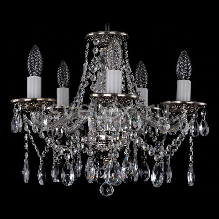 Фото Подвесная люстра Bohemia Ivele Crystal 1613 1613/5/141/NB
