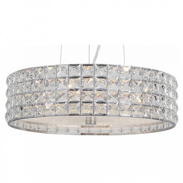 Подвесной светильник ST-LuceПодвесные светильники<br>Артикул - SL752.103.06,Бренд - ST-Luce (Китай),Коллекция - Piatto,Гарантия, месяцы - 24,Высота, мм - 150,Диаметр, мм - 400,Тип лампы - компактная люминесцентная [КЛЛ] ИЛИнакаливания ИЛИсветодиодная [LED],Общее кол-во ламп - 6,Напряжение питания лампы, В - 220,Максимальная мощность лампы, Вт - 40,Лампы в комплекте - отсутствуют,Цвет плафонов и подвесок - неокрашенный,Тип поверхности плафонов - прозрачный,Материал плафонов и подвесок - стекло, хрусталь,Цвет арматуры - хром,Тип поверхности арматуры - глянцевый,Материал арматуры - металл,Количество плафонов - 1,Возможность подлючения диммера - можно, если установить лампу накаливания,Тип цоколя лампы - E14,Класс электробезопасности - I,Общая мощность, Вт - 240,Степень пылевлагозащиты, IP - 20,Диапазон рабочих температур - комнатная температура,Дополнительные параметры - способ крепления светильника к потолку - на монтажной пластине, регулируется по высоте<br>