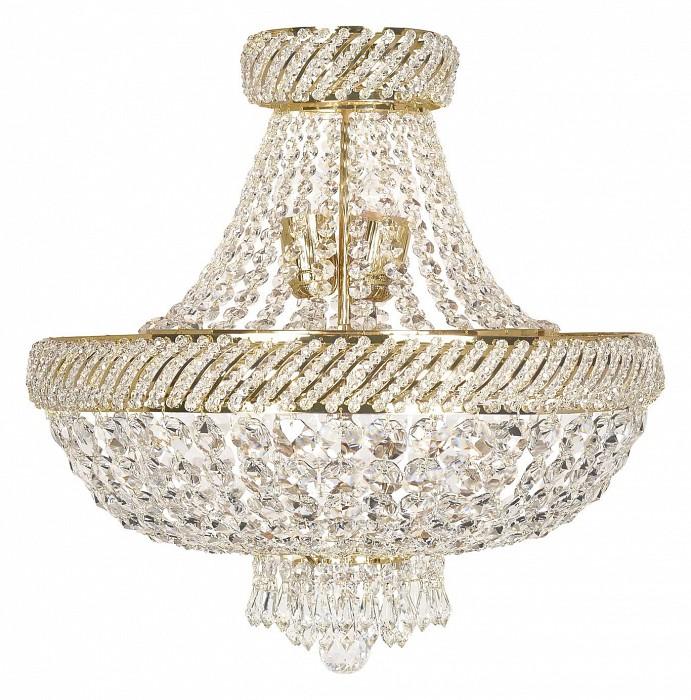 Люстра на штанге Arti LampadariБолее 6 ламп<br>Артикул - AL_Palermo_E_1.5.45.600_G,Бренд - Arti Lampadari (Италия),Коллекция - Palermo,Гарантия, месяцы - 24,Высота, мм - 550,Диаметр, мм - 450,Тип лампы - компактные люминесцентные [КЛЛ] ИЛИнакаливания ИЛИсветодиодные [LED],Количество ламп - 3, 5,Общее кол-во ламп - 8,Напряжение питания лампы, В - 220,Максимальная мощность лампы, Вт - 40, 60,Лампы в комплекте - отсутствуют,Цвет плафонов и подвесок - неокрашенный,Тип поверхности плафонов - прозрачный,Материал плафонов и подвесок - хрусталь,Цвет арматуры - золото,Тип поверхности арматуры - глянцевый,Материал арматуры - металл,Возможность подлючения диммера - можно, если установить лампу накаливания,Тип цоколя лампы - E14, E27,Класс электробезопасности - I,Общая мощность, Вт - 420,Степень пылевлагозащиты, IP - 20,Диапазон рабочих температур - комнатная температура,Дополнительные параметры - способ крепления к потолку - на монтажной пластине<br>