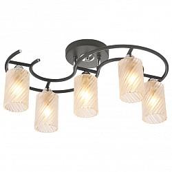 Потолочная люстра IDLamp5 или 6 ламп<br>Артикул - ID_208_5PF-Blackchrome,Бренд - IDLamp (Италия),Коллекция - 208,Высота, мм - 240,Тип лампы - компактная люминесцентная [КЛЛ] ИЛИнакаливания ИЛИсветодиодная [LED],Общее кол-во ламп - 5,Напряжение питания лампы, В - 220,Максимальная мощность лампы, Вт - 60,Лампы в комплекте - отсутствуют,Цвет плафонов и подвесок - белый полосатый,Тип поверхности плафонов - матовый, рельефный,Материал плафонов и подвесок - стекло,Цвет арматуры - хром, черный,Тип поверхности арматуры - глянцевый, матовый,Материал арматуры - металл,Возможность подлючения диммера - можно, если установить лампу накаливания,Тип цоколя лампы - E14,Класс электробезопасности - I,Общая мощность, Вт - 300,Степень пылевлагозащиты, IP - 20,Диапазон рабочих температур - комнатная температура,Дополнительные параметры - способ крепления светильника к потолку – на монтажной пластине<br>