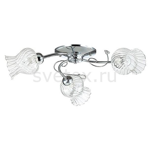 Потолочная люстра LumionЛюстры<br>Артикул - LMN_3073_3C,Бренд - Lumion (Италия),Коллекция - Frizza,Гарантия, месяцы - 24,Высота, мм - 180,Диаметр, мм - 650,Размер упаковки, мм - 330x190x330,Тип лампы - компактная люминесцентная [КЛЛ] ИЛИнакаливания ИЛИсветодиодная [LED],Общее кол-во ламп - 3,Напряжение питания лампы, В - 220,Максимальная мощность лампы, Вт - 40,Лампы в комплекте - отсутствуют,Цвет плафонов и подвесок - неокрашенный полосытые,Тип поверхности плафонов - прозрачный, рельефный,Материал плафонов и подвесок - стекло, хрусталь,Цвет арматуры - хром,Тип поверхности арматуры - глянцевый, металлик,Материал арматуры - металл,Количество плафонов - 3,Возможность подлючения диммера - можно, если установить лампу накаливания,Тип цоколя лампы - E14,Класс электробезопасности - I,Общая мощность, Вт - 120,Степень пылевлагозащиты, IP - 20,Диапазон рабочих температур - комнатная температура,Дополнительные параметры - способ крепления к потолку - на монтажной пластине<br>
