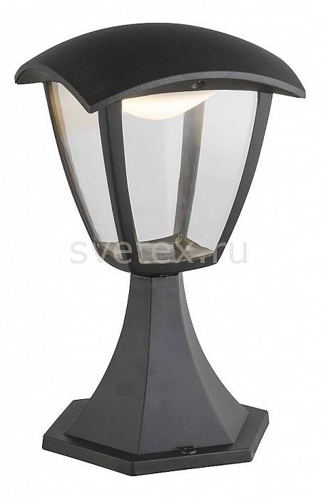 Наземный низкий светильник GloboСветильники<br>Артикул - GB_31827,Бренд - Globo (Австрия),Коллекция - Delio,Гарантия, месяцы - 24,Высота, мм - 280,Диаметр, мм - 165,Тип лампы - светодиодная [LED],Общее кол-во ламп - 1,Напряжение питания лампы, В - 220,Максимальная мощность лампы, Вт - 7,Цвет лампы - белый,Лампы в комплекте - светодиодная [LED],Цвет плафонов и подвесок - неокрашенный,Тип поверхности плафонов - прозрачный,Материал плафонов и подвесок - полимер,Цвет арматуры - черный,Тип поверхности арматуры - матовый,Материал арматуры - металл,Количество плафонов - 1,Цветовая температура, K - 4000 K,Экономичнее лампы накаливания - в 10 раз,Класс электробезопасности - I,Степень пылевлагозащиты, IP - 44,Диапазон рабочих температур - от -40^C до +40^C<br>