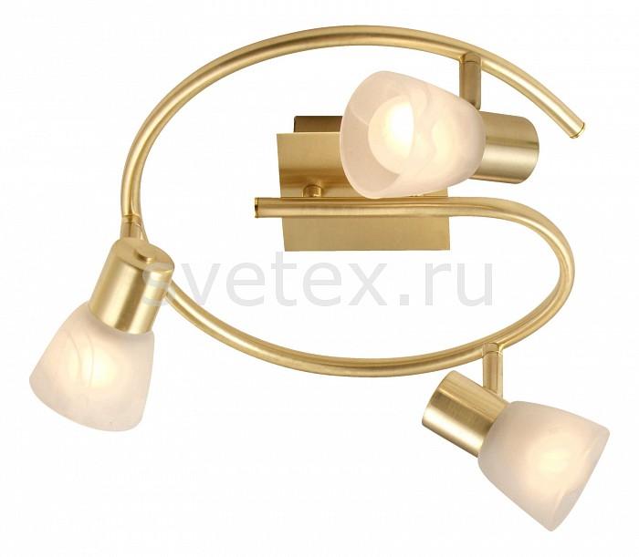 Спот GloboСпоты<br>Артикул - GB_54540-3,Бренд - Globo (Австрия),Коллекция - Raider,Гарантия, месяцы - 24,Выступ, мм - 150,Диаметр, мм - 290,Размер упаковки, мм - 140x335x335,Тип лампы - компактная люминесцентная [КЛЛ] ИЛИнакаливания ИЛИсветодиодная [LED],Общее кол-во ламп - 3,Напряжение питания лампы, В - 220,Максимальная мощность лампы, Вт - 40,Лампы в комплекте - отсутствуют,Цвет плафонов и подвесок - белый алебастр,Тип поверхности плафонов - матовый,Материал плафонов и подвесок - стекло,Цвет арматуры - латунь,Тип поверхности арматуры - матовый,Материал арматуры - металл,Количество плафонов - 3,Возможность подлючения диммера - можно, если установить лампу накаливания,Тип цоколя лампы - E14,Класс электробезопасности - I,Общая мощность, Вт - 120,Степень пылевлагозащиты, IP - 20,Диапазон рабочих температур - комнатная температура,Дополнительные параметры - поворотный светильник<br>