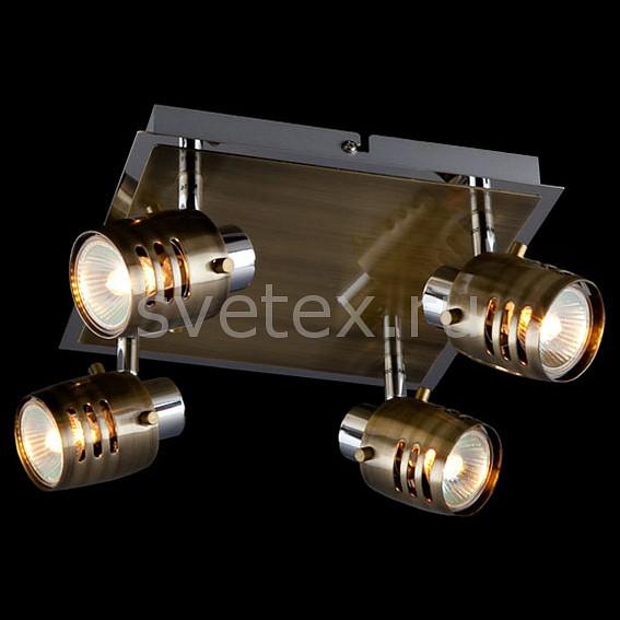 Спот EurosvetКвадратные<br>Артикул - EV_5826,Бренд - Eurosvet (Китай),Коллекция - 23463,Гарантия, месяцы - 24,Длина, мм - 240,Ширина, мм - 240,Выступ, мм - 150,Тип лампы - галогеновая,Общее кол-во ламп - 4,Напряжение питания лампы, В - 12,Максимальная мощность лампы, Вт - 50,Лампы в комплекте - галогеновые G5.3,Цвет плафонов и подвесок - бронза античная,Тип поверхности плафонов - глянцевый,Материал плафонов и подвесок - металл,Цвет арматуры - бронза античная, хром,Тип поверхности арматуры - глянцевый,Материал арматуры - металл,Количество плафонов - 4,Возможность подлючения диммера - можно,Компоненты, входящие в комплект - трансформатор 12 В,Форма и тип колбы - конусная с рефлектором,Тип цоколя лампы - G5.3,Класс электробезопасности - I,Напряжение питания, В - 220,Общая мощность, Вт - 200,Степень пылевлагозащиты, IP - 20,Диапазон рабочих температур - комнатная температура,Дополнительные параметры - поворотный светильник<br>