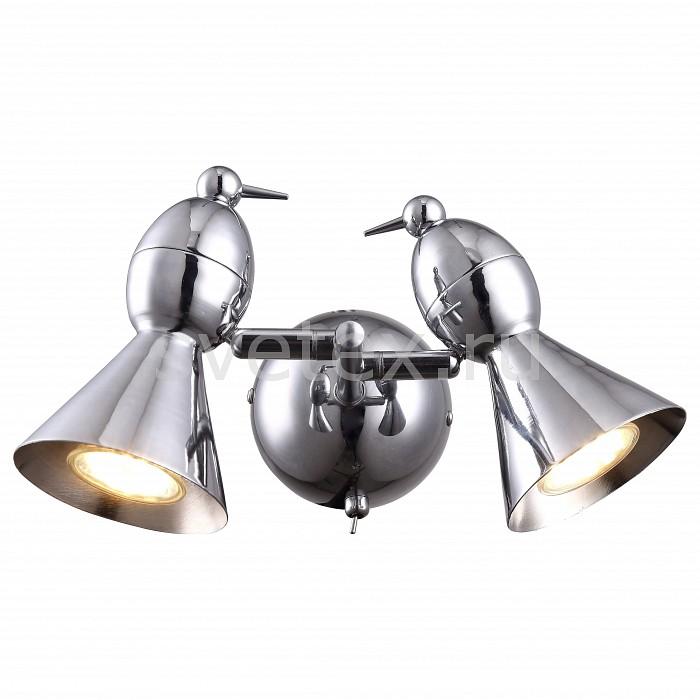 Бра Arte LampМеталлический плафон<br>Артикул - AR_A9229AP-2CC,Бренд - Arte Lamp (Италия),Коллекция - Picchio,Гарантия, месяцы - 24,Ширина, мм - 200,Высота, мм - 150,Выступ, мм - 300,Размер упаковки, мм - 250x240x120,Тип лампы - галогеновая ИЛИсветодиодная [LED],Общее кол-во ламп - 2,Напряжение питания лампы, В - 220,Максимальная мощность лампы, Вт - 50,Лампы в комплекте - отсутствуют,Цвет плафонов и подвесок - хром,Тип поверхности плафонов - глянцевый,Материал плафонов и подвесок - металл,Цвет арматуры - хром,Тип поверхности арматуры - глянцевый,Материал арматуры - металл,Количество плафонов - 2,Наличие выключателя, диммера или пульта ДУ - выключатель,Форма и тип колбы - полусферическая с рефлектором,Тип цоколя лампы - GU10,Класс электробезопасности - I,Общая мощность, Вт - 100,Степень пылевлагозащиты, IP - 20,Диапазон рабочих температур - комнатная температура,Дополнительные параметры - светильник предназначен для использования со скрытой проводкой, поворотный светильник<br>
