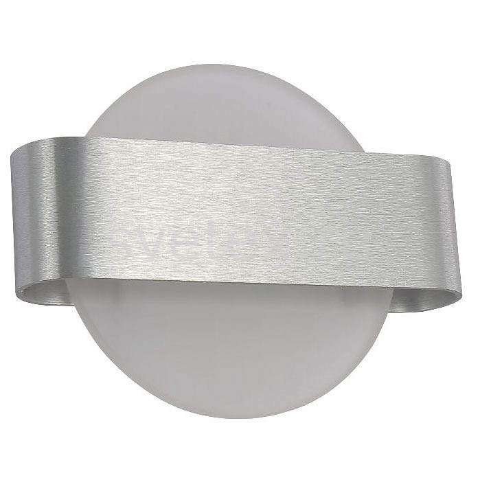 Накладной светильник Crystal LuxСветодиодные<br>Артикул - CU_3140_401,Бренд - Crystal Lux (Испания),Коллекция - Sync,Гарантия, месяцы - 24,Ширина, мм - 270,Высота, мм - 210,Выступ, мм - 86,Тип лампы - светодиодная [LED],Общее кол-во ламп - 1,Максимальная мощность лампы, Вт - 8,Цвет лампы - белый,Лампы в комплекте - светодиодная [LED],Цвет плафонов и подвесок - белый,Тип поверхности плафонов - матовый,Материал плафонов и подвесок - стекло,Цвет арматуры - алюминий,Тип поверхности арматуры - матовый,Материал арматуры - металл,Количество плафонов - 1,Возможность подлючения диммера - нельзя,Цветовая температура, K - 4200 K,Световой поток, лм - 720,Экономичнее лампы накаливания - в 8.3 раза,Светоотдача, лм/Вт - 90,Класс электробезопасности - I,Напряжение питания, В - 220,Степень пылевлагозащиты, IP - 20,Диапазон рабочих температур - комнатная температура,Дополнительные параметры - способ крепления светильника – на монтажной пластине, светильник предназначен для использования со скрытой проводкой<br>
