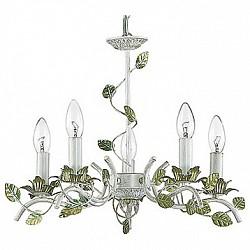 Подвесная люстра Lumion5 или 6 ламп<br>Артикул - LMN_3115_5,Бренд - Lumion (Италия),Коллекция - Listo,Гарантия, месяцы - 24,Высота, мм - 900,Диаметр, мм - 530,Тип лампы - компактная люминесцентная [КЛЛ] ИЛИнакаливания ИЛИсветодиодная [LED],Общее кол-во ламп - 5,Напряжение питания лампы, В - 220,Максимальная мощность лампы, Вт - 40,Лампы в комплекте - отсутствуют,Цвет арматуры - белый с золотой патиной, зеленый,Тип поверхности арматуры - матовый,Материал арматуры - металл,Возможность подлючения диммера - можно, если установить лампу накаливания,Тип цоколя лампы - E14,Класс электробезопасности - I,Общая мощность, Вт - 200,Степень пылевлагозащиты, IP - 20,Диапазон рабочих температур - комнатная температура,Дополнительные параметры - способ крепления к потолку - на крюке, регулируется по высоте<br>