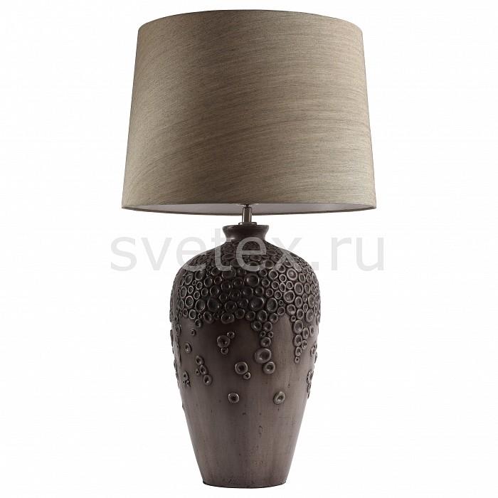 Настольная лампа декоративная ST-LuceС абажуром<br>Артикул - SL987.604.01,Бренд - ST-Luce (Китай),Коллекция - Tabella,Гарантия, месяцы - 24,Время изготовления, дней - 1,Высота, мм - 720,Диаметр, мм - 410,Размер упаковки, мм - 610х310х600; 420х420х510,Тип лампы - компактная люминесцентная [КЛЛ] ИЛИнакаливания ИЛИсветодиодная [LED],Общее кол-во ламп - 1,Напряжение питания лампы, В - 220,Максимальная мощность лампы, Вт - 60,Лампы в комплекте - отсутствуют,Цвет плафонов и подвесок - коричневый,Тип поверхности плафонов - матовый,Материал плафонов и подвесок - текстиль,Цвет арматуры - коричневый, хром,Тип поверхности арматуры - глянцевый,Материал арматуры - керамика, металл,Количество плафонов - 1,Наличие выключателя, диммера или пульта ДУ - выключатель на проводе,Компоненты, входящие в комплект - провод электропитания с вилкой без заземления,Тип цоколя лампы - E27,Класс электробезопасности - II,Степень пылевлагозащиты, IP - 20,Диапазон рабочих температур - комнатная температура<br>