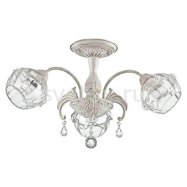 Люстра на штанге LumionЛюстры<br>Артикул - LMN_3142_3C,Бренд - Lumion (Италия),Коллекция - Adelita,Гарантия, месяцы - 24,Высота, мм - 390,Диаметр, мм - 630,Размер упаковки, мм - 180x340x340,Тип лампы - компактная люминесцентная [КЛЛ] ИЛИнакаливания ИЛИсветодиодная [LED],Общее кол-во ламп - 3,Напряжение питания лампы, В - 220,Максимальная мощность лампы, Вт - 60,Лампы в комплекте - отсутствуют,Цвет плафонов и подвесок - неокрашенный,Тип поверхности плафонов - прозрачный,Материал плафонов и подвесок - стекло, хрусталь,Цвет арматуры - белый с золотой патиной,Тип поверхности арматуры - матовый, рельефный,Материал арматуры - металл,Количество плафонов - 3,Возможность подлючения диммера - можно, если установить лампу накаливания,Тип цоколя лампы - E27,Класс электробезопасности - I,Общая мощность, Вт - 180,Степень пылевлагозащиты, IP - 20,Диапазон рабочих температур - комнатная температура,Дополнительные параметры - способ крепления к потолку - на монтажной пластине<br>