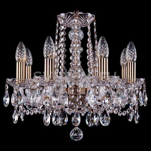 Фото Подвесная люстра Bohemia Ivele Crystal 1402 1402/5/160/Pa