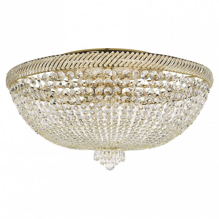Потолочная люстра Dio D'ArteБолее 6 ламп<br>Артикул - DDA_Bari_E_1.2.80.300_G,Бренд - Dio D'Arte (Италия),Коллекция - Bari,Гарантия, месяцы - 24,Высота, мм - 400,Диаметр, мм - 800,Тип лампы - компактная люминесцентная [КЛЛ] ИЛИнакаливания ИЛИсветодиодная [LED],Общее кол-во ламп - 10,Напряжение питания лампы, В - 220,Максимальная мощность лампы, Вт - 60,Лампы в комплекте - отсутствуют,Цвет плафонов и подвесок - неокрашенный,Тип поверхности плафонов - прозрачный,Материал плафонов и подвесок - хрусталь Swarovski Spectra,Цвет арматуры - золото,Тип поверхности арматуры - глянцевый,Материал арматуры - металл,Возможность подлючения диммера - можно, если установить лампу накаливания,Тип цоколя лампы - E27,Класс электробезопасности - I,Общая мощность, Вт - 600,Степень пылевлагозащиты, IP - 20,Диапазон рабочих температур - комнатная температура,Дополнительные параметры - способ крепления светильника к потолку - на монтажной пластине<br>