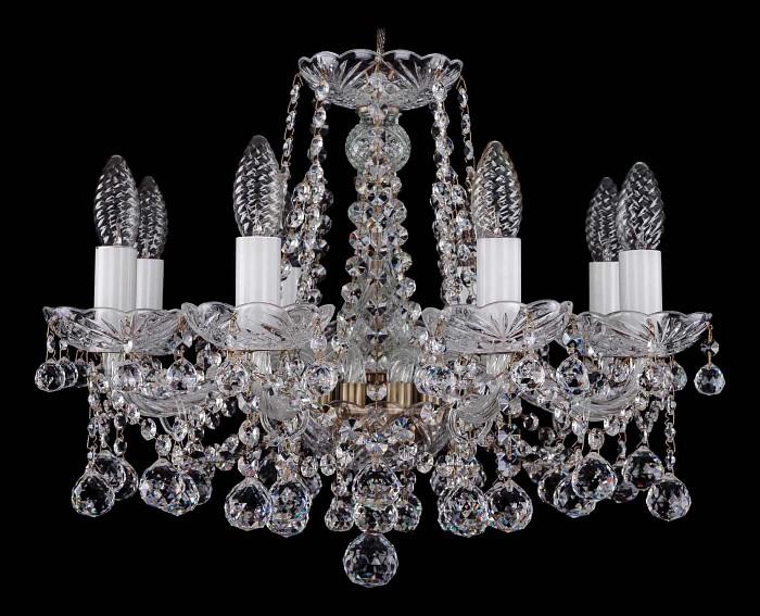 Фото Подвесная люстра Bohemia Ivele Crystal 1413 1413/8/165/Pa/Balls