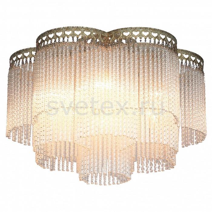 Потолочная люстра Favourite5 или 6 ламп<br>Артикул - FV_1632-6U,Бренд - Favourite (Германия),Коллекция - Barhan,Гарантия, месяцы - 24,Высота, мм - 285,Диаметр, мм - 460,Тип лампы - компактная люминесцентная [КЛЛ] ИЛИнакаливания ИЛИсветодиодная [LED],Общее кол-во ламп - 6,Напряжение питания лампы, В - 220,Максимальная мощность лампы, Вт - 40,Лампы в комплекте - отсутствуют,Цвет плафонов и подвесок - неокрашенный,Тип поверхности плафонов - прозрачный, рельефный,Материал плафонов и подвесок - стекло,Цвет арматуры - слоновая кость с позолотой,Тип поверхности арматуры - матовый, рельефный,Материал арматуры - металл,Возможность подлючения диммера - можно, если установить лампу накаливания,Тип цоколя лампы - E14,Класс электробезопасности - I,Общая мощность, Вт - 240,Степень пылевлагозащиты, IP - 20,Диапазон рабочих температур - комнатная температура,Дополнительные параметры - способ крепления светильника к потолку - на монтажной пластине<br>
