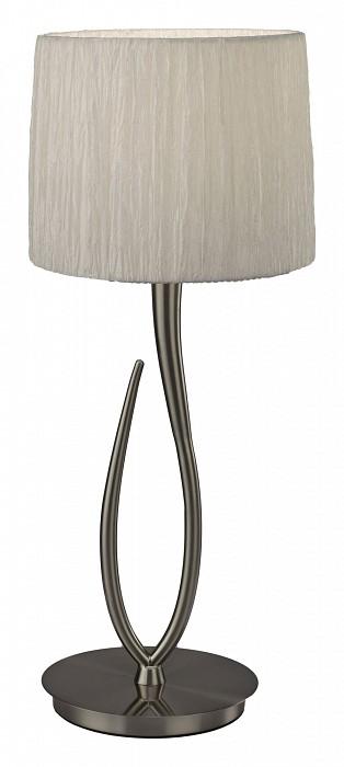 Настольная лампа MantraС абажуром<br>Артикул - MN_3708,Бренд - Mantra (Испания),Коллекция - Lua,Гарантия, месяцы - 24,Время изготовления, дней - 1,Высота, мм - 617,Диаметр, мм - 250,Тип лампы - компактная люминесцентная [КЛЛ] ИЛИсветодиодная [LED],Общее кол-во ламп - 1,Напряжение питания лампы, В - 220,Максимальная мощность лампы, Вт - 13,Лампы в комплекте - отсутствуют,Цвет плафонов и подвесок - белый,Тип поверхности плафонов - матовый,Материал плафонов и подвесок - органза,Цвет арматуры - хром,Тип поверхности арматуры - глянцевый,Материал арматуры - металл,Количество плафонов - 1,Наличие выключателя, диммера или пульта ДУ - выключатель на проводе,Компоненты, входящие в комплект - провод электропитания с вилкой без заземления,Тип цоколя лампы - E27,Класс электробезопасности - II,Степень пылевлагозащиты, IP - 20,Диапазон рабочих температур - комнатная температура,Дополнительные параметры - провод электропитания с вилкой без заземления<br>