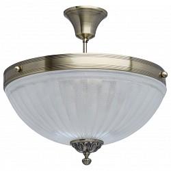 Светильник на штанге MW-LightКруглые<br>Артикул - MW_317013705,Бренд - MW-Light (Германия),Коллекция - Афродита 5,Гарантия, месяцы - 24,Высота, мм - 380,Диаметр, мм - 400,Тип лампы - компактная люминесцентная [КЛЛ] ИЛИнакаливания ИЛИсветодиодная [LED],Общее кол-во ламп - 5,Напряжение питания лампы, В - 220,Максимальная мощность лампы, Вт - 60,Лампы в комплекте - отсутствуют,Цвет плафонов и подвесок - белый, неокрашенный,Тип поверхности плафонов - матовый, прозрачный,Материал плафонов и подвесок - стекло, хрусталь,Цвет арматуры - бронза античная,Тип поверхности арматуры - матовый, рельефный,Материал арматуры - металл,Возможность подлючения диммера - можно, если установить лампу накаливания,Тип цоколя лампы - E14,Класс электробезопасности - I,Общая мощность, Вт - 300,Степень пылевлагозащиты, IP - 20,Диапазон рабочих температур - комнатная температура,Дополнительные параметры - способ крепления к потолку - на монтажной пластине<br>