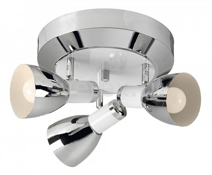 Спот markslojdСпоты<br>Артикул - ML_102318,Бренд - markslojd (Швеция),Коллекция - Bornholm,Гарантия, месяцы - 24,Выступ, мм - 200,Диаметр, мм - 340,Тип лампы - компактная люминесцентная [КЛЛ] ИЛИнакаливания ИЛИсветодиодная [LED],Общее кол-во ламп - 3,Напряжение питания лампы, В - 220,Лампы в комплекте - отсутствуют,Цвет плафонов и подвесок - белый, хром,Тип поверхности плафонов - глянцевый, матовый,Материал плафонов и подвесок - металл,Цвет арматуры - белый, хром,Тип поверхности арматуры - глянцевый, матовый,Материал арматуры - металл,Количество плафонов - 3,Возможность подлючения диммера - можно, если установить лампу накаливания,Тип цоколя лампы - E14,Класс электробезопасности - I,Общая мощность, Вт - 120,Степень пылевлагозащиты, IP - 20,Диапазон рабочих температур - комнатная температура,Дополнительные параметры - способ крепления светильника к потолку и стене - на монтажной пластине, поворотный светильник<br>