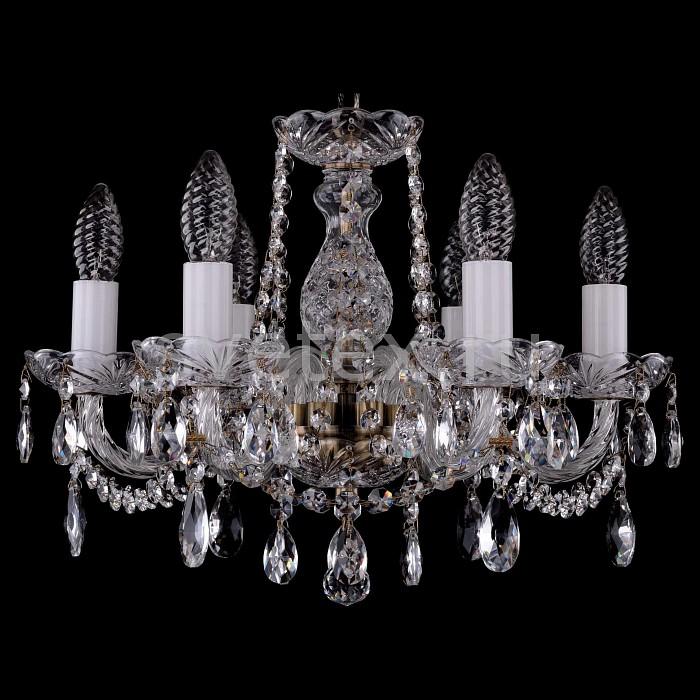 Фото Подвесная люстра Bohemia Ivele Crystal 1402 1402/6/141/Pa