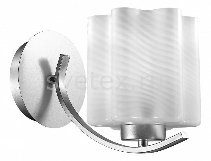 Бра ST-LuceНастенные светильники<br>Артикул - SL117.501.01,Бренд - ST-Luce (Китай),Коллекция - Onde,Гарантия, месяцы - 24,Время изготовления, дней - 1,Ширина, мм - 150,Высота, мм - 180,Выступ, мм - 270,Тип лампы - компактная люминесцентная [КЛЛ] ИЛИнакаливания ИЛИсветодиодная [LED],Общее кол-во ламп - 1,Напряжение питания лампы, В - 220,Максимальная мощность лампы, Вт - 60,Лампы в комплекте - отсутствуют,Цвет плафонов и подвесок - белый полосатый,Тип поверхности плафонов - матовый,Материал плафонов и подвесок - стекло,Цвет арматуры - серебро,Тип поверхности арматуры - глянцевый,Материал арматуры - металл,Количество плафонов - 1,Возможность подлючения диммера - можно, если установить лампу накаливания,Тип цоколя лампы - E27,Класс электробезопасности - I,Степень пылевлагозащиты, IP - 20,Диапазон рабочих температур - комнатная температура,Дополнительные параметры - способ крепления светильника к потолку – на монтажной пластине<br>