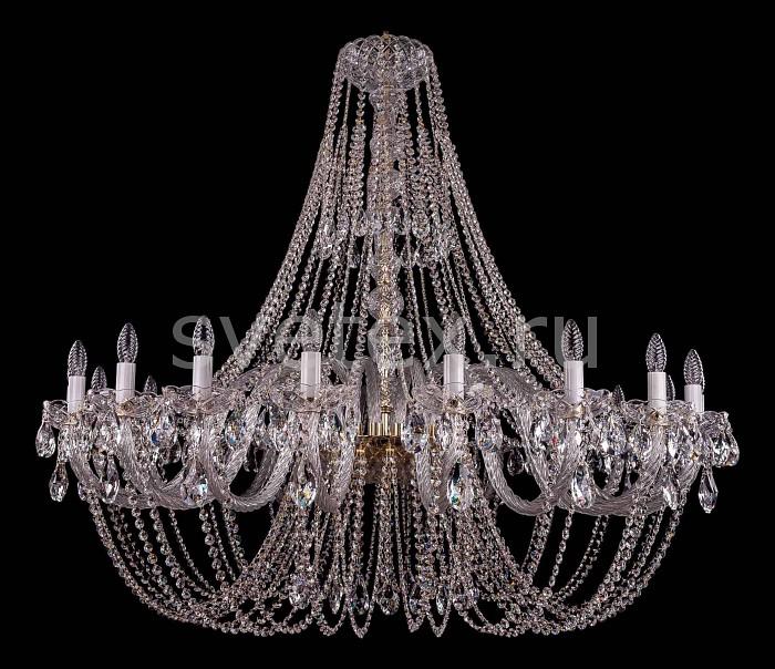 Фото Подвесная люстра Bohemia Ivele Crystal 1406 1406/20/500/G