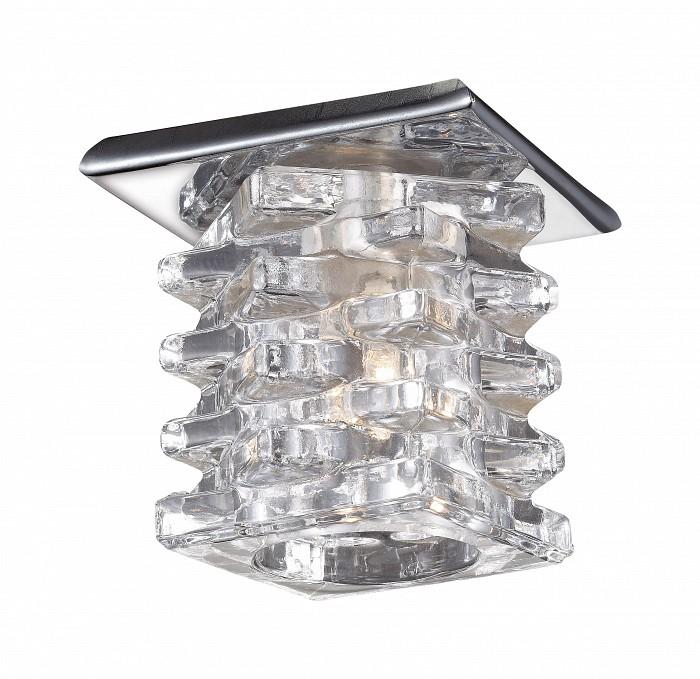 Встраиваемый светильник NovotechХрустальные<br>Артикул - NV_369375,Бренд - Novotech (Венгрия),Коллекция - Crystal,Гарантия, месяцы - 24,Время изготовления, дней - 1,Длина, мм - 70,Ширина, мм - 70,Глубина, мм - 25,Размер врезного отверстия, мм - 45,Тип лампы - галогеновая ИЛИсветодиодная [LED],Общее кол-во ламп - 1,Напряжение питания лампы, В - 12,Максимальная мощность лампы, Вт - 20,Лампы в комплекте - отсутствуют,Цвет плафонов и подвесок - неокрашенный,Тип поверхности плафонов - прозрачный,Материал плафонов и подвесок - хрусталь,Цвет арматуры - хром,Тип поверхности арматуры - глянцевый,Материал арматуры - металл,Количество плафонов - 1,Возможность подлючения диммера - можно, если установить галогеновую лампу и подключить трансформатор 12 В с возможностью диммирования,Необходимые компоненты - трансформатор 12 В,Компоненты, входящие в комплект - нет,Форма и тип колбы - пальчиковая,Тип цоколя лампы - G4,Экономичнее лампы накаливания - на 50%,Класс электробезопасности - III,Напряжение питания, В - 220,Степень пылевлагозащиты, IP - 20,Диапазон рабочих температур - комнатная температура<br>