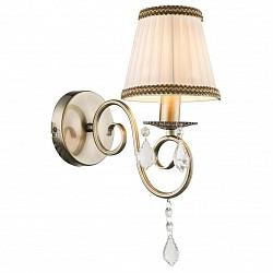 Бра GloboТекстильный плафон<br>Артикул - GB_69010W,Бренд - Globo (Австрия),Коллекция - Genoveva I,Гарантия, месяцы - 24,Высота, мм - 370,Тип лампы - компактная люминесцентная [КЛЛ] ИЛИнакаливания ИЛИсветодиодная [LED],Общее кол-во ламп - 1,Напряжение питания лампы, В - 220,Максимальная мощность лампы, Вт - 60,Лампы в комплекте - отсутствуют,Цвет плафонов и подвесок - бежевый с коричневой каймой, неокрашенный,Тип поверхности плафонов - матовый, прозрачный,Материал плафонов и подвесок - текстиль, хрусталь,Цвет арматуры - бронза,Тип поверхности арматуры - матовый, рельефный,Материал арматуры - металл,Количество плафонов - 1,Возможность подлючения диммера - можно, если установить лампу накаливания,Тип цоколя лампы - E14,Класс электробезопасности - I,Степень пылевлагозащиты, IP - 20,Диапазон рабочих температур - комнатная температура,Дополнительные параметры - способ крепления к стене - на монтажной пластине, светильник предназначен для использования со скрытой проводкой<br>