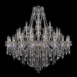 Подвесная люстра Bohemia Ivele CrystalБолее 6 ламп<br>Артикул - BI_1415_20_10_5_460_132_G,Бренд - Bohemia Ivele Crystal (Чехия),Коллекция - 1415,Гарантия, месяцы - 24,Высота, мм - 1320,Диаметр, мм - 1340,Размер упаковки, мм - 710x710x390,Тип лампы - компактная люминесцентная [КЛЛ] ИЛИнакаливания ИЛИсветодиодная [LED],Общее кол-во ламп - 35,Напряжение питания лампы, В - 220,Максимальная мощность лампы, Вт - 40,Лампы в комплекте - отсутствуют,Цвет плафонов и подвесок - неокрашенный,Тип поверхности плафонов - прозрачный,Материал плафонов и подвесок - хрусталь,Цвет арматуры - золото, неокрашенный,Тип поверхности арматуры - глянцевый, прозрачный, рельефный,Материал арматуры - металл, стекло,Возможность подлючения диммера - можно, если установить лампу накаливания,Форма и тип колбы - свеча ИЛИ свеча на ветру,Тип цоколя лампы - E14,Класс электробезопасности - I,Общая мощность, Вт - 1400,Степень пылевлагозащиты, IP - 20,Диапазон рабочих температур - комнатная температура,Дополнительные параметры - способ крепления светильника к потолку - на крюке, указана высота светильника без подвеса<br>