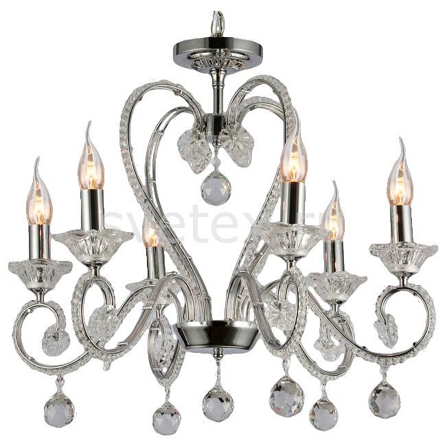 Подвесная люстра Maytoni5 или 6 ламп<br>Артикул - MY_DIA332-06-N,Бренд - Maytoni (Германия),Коллекция - Amore,Гарантия, месяцы - 24,Высота, мм - 520-1020,Диаметр, мм - 580,Тип лампы - компактная люминесцентная [КЛЛ] ИЛИнакаливания ИЛИсветодиодная [LED],Общее кол-во ламп - 6,Напряжение питания лампы, В - 220,Максимальная мощность лампы, Вт - 60,Лампы в комплекте - отсутствуют,Цвет плафонов и подвесок - неокрашенный,Тип поверхности плафонов - прозрачный,Материал плафонов и подвесок - хрусталь,Цвет арматуры - неокрашенный, хром,Тип поверхности арматуры - глянцевый, прозрачный,Материал арматуры - металл, стекло,Возможность подлючения диммера - можно, если установить лампу накаливания,Форма и тип колбы - свеча ИЛИ свеча на ветру,Тип цоколя лампы - E14,Класс электробезопасности - I,Общая мощность, Вт - 360,Степень пылевлагозащиты, IP - 20,Диапазон рабочих температур - комнатная температура,Дополнительные параметры - способ крепления светильника к потолку – на крюке<br>