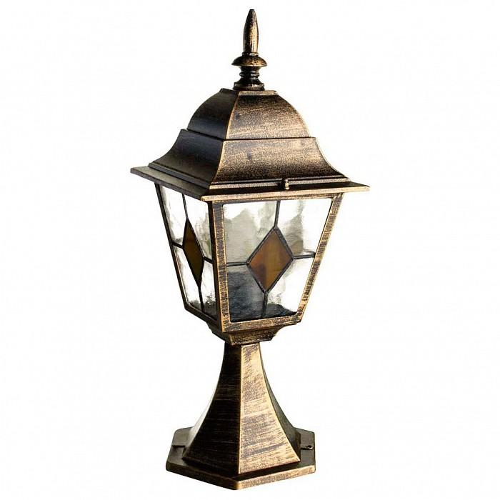 Фото Наземный низкий светильник Arte Lamp Berlin A1014FN-1BN