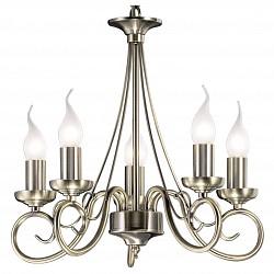 Подвесная люстра Odeon Light5 или 6 ламп<br>Артикул - OD_1297_5,Бренд - Odeon Light (Италия),Коллекция - Sandia,Гарантия, месяцы - 24,Высота, мм - 390,Диаметр, мм - 390,Тип лампы - компактная люминесцентная [КЛЛ] ИЛИнакаливания ИЛИсветодиодная [LED],Общее кол-во ламп - 5,Напряжение питания лампы, В - 220,Максимальная мощность лампы, Вт - 40,Лампы в комплекте - отсутствуют,Цвет арматуры - бронза,Тип поверхности арматуры - глянцевый,Материал арматуры - металл,Возможность подлючения диммера - можно, если установить лампу накаливания,Форма и тип колбы - свеча ИЛИ свеча на ветру,Тип цоколя лампы - E14,Класс электробезопасности - I,Общая мощность, Вт - 200,Степень пылевлагозащиты, IP - 20,Диапазон рабочих температур - комнатная температура,Дополнительные параметры - указана высота светильника без подвеса<br>