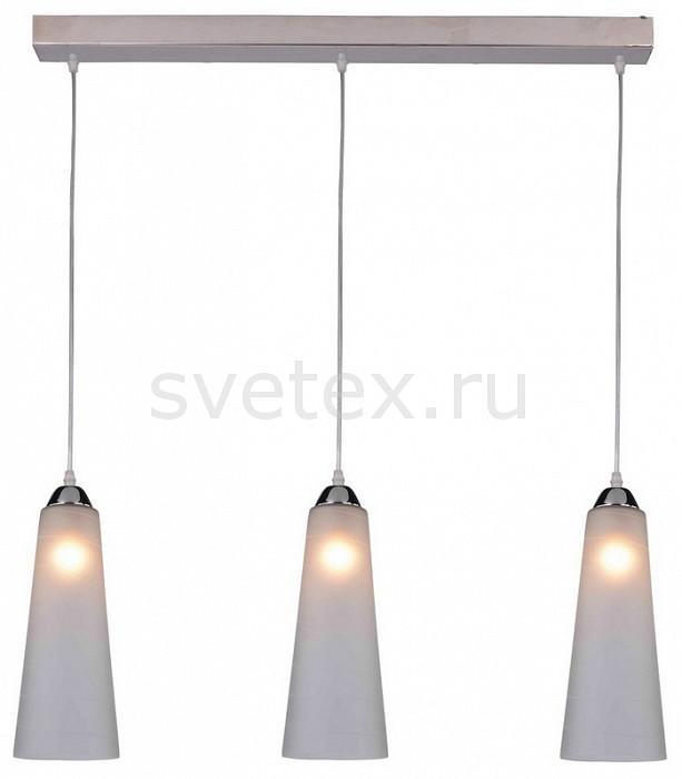 Подвесной светильник IDLampБарные<br>Артикул - ID_236_3-Chrome,Бренд - IDLamp (Италия),Коллекция - Iris Glos,Гарантия, месяцы - 24,Длина, мм - 500,Ширина, мм - 110,Высота, мм - 300-1000,Тип лампы - компактная люминесцентная [КЛЛ] ИЛИнакаливания ИЛИсветодиодная [LED],Общее кол-во ламп - 3,Напряжение питания лампы, В - 220,Максимальная мощность лампы, Вт - 60,Лампы в комплекте - отсутствуют,Цвет плафонов и подвесок - белый,Тип поверхности плафонов - матовый,Материал плафонов и подвесок - стекло,Цвет арматуры - хром,Тип поверхности арматуры - глянцевый,Материал арматуры - металл,Количество плафонов - 3,Возможность подлючения диммера - можно, если установить лампу накаливания,Тип цоколя лампы - E27,Класс электробезопасности - I,Общая мощность, Вт - 180,Степень пылевлагозащиты, IP - 20,Диапазон рабочих температур - комнатная температура,Дополнительные параметры - регулируется по высоте, способ крепления светильника к потолку – на монтажной пластине<br>