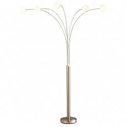 Торшер GloboСтеклянный плафон<br>Артикул - GB_58222,Бренд - Globo (Австрия),Коллекция - Classic style,Гарантия, месяцы - 24,Время изготовления, дней - 1,Высота, мм - 2050,Размер упаковки, мм - 1460x400x125,Тип лампы - галогеновая,Общее кол-во ламп - 5,Напряжение питания лампы, В - 220,Максимальная мощность лампы, Вт - 40,Лампы в комплекте - галогеновые G9,Цвет плафонов и подвесок - белый,Тип поверхности плафонов - матовый,Материал плафонов и подвесок - стекло,Цвет арматуры - никель,Тип поверхности арматуры - глянцевый,Материал арматуры - сталь,Форма и тип колбы - пальчиковая,Тип цоколя лампы - G9,Класс электробезопасности - I,Общая мощность, Вт - 200,Степень пылевлагозащиты, IP - 20,Диапазон рабочих температур - комнатная температура<br>