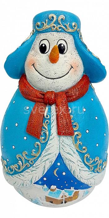 Снеговик Mister ChristmasСнеговики<br>Артикул - MC_MKMB-03,Бренд - Mister Christmas (Россия),Коллекция - Неваляшка,Высота, мм - 110,Высота - 11 см,Цвет - синий,Материал - полистоун,Дополнительные параметры - неваляшка<br>