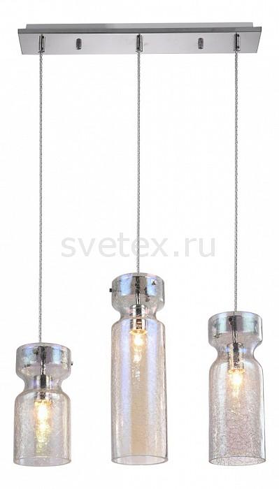 Подвесной светильник Crystal LuxБарные<br>Артикул - CU_1570_203,Бренд - Crystal Lux (Испания),Коллекция - Dia,Гарантия, месяцы - 24,Ширина, мм - 120,Высота, мм - 390-1100,Тип лампы - компактная люминесцентная [КЛЛ] ИЛИнакаливания ИЛИсветодиодная [LED],Общее кол-во ламп - 3,Напряжение питания лампы, В - 220,Максимальная мощность лампы, Вт - 60,Лампы в комплекте - отсутствуют,Цвет плафонов и подвесок - неокрашенный,Тип поверхности плафонов - прозрачный,Материал плафонов и подвесок - стекло,Цвет арматуры - хром,Тип поверхности арматуры - глянцевый,Материал арматуры - металл,Количество плафонов - 3,Возможность подлючения диммера - можно, если установить лампу накаливания,Тип цоколя лампы - E27,Класс электробезопасности - I,Общая мощность, Вт - 180,Степень пылевлагозащиты, IP - 20,Диапазон рабочих температур - комнатная температура,Дополнительные параметры - регулируется по высоте,  способ крепления светильника к потолку – на монтажной пластине<br>