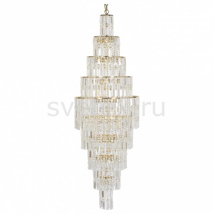 Подвесная люстра Dio D'ArteБолее 6 ламп<br>Артикул - DDA_Bergamo_E_1.10.50.100_G,Бренд - Dio D'Arte (Италия),Коллекция - Bergamo,Гарантия, месяцы - 24,Высота, мм - 1670,Диаметр, мм - 500,Тип лампы - компактная люминесцентная [КЛЛ] ИЛИнакаливания ИЛИсветодиодная  [LED],Общее кол-во ламп - 23,Напряжение питания лампы, В - 220,Максимальная мощность лампы, Вт - 60,Лампы в комплекте - отсутствуют,Цвет плафонов и подвесок - неокрашенный,Тип поверхности плафонов - прозрачный,Материал плафонов и подвесок - хрусталь Elite,Цвет арматуры - золото,Тип поверхности арматуры - глянцевый,Материал арматуры - металл,Возможность подлючения диммера - можно, если установить лампу накаливания,Тип цоколя лампы - E27,Класс электробезопасности - I,Общая мощность, Вт - 1380,Степень пылевлагозащиты, IP - 20,Диапазон рабочих температур - комнатная температура,Дополнительные параметры - способ крепления светильника к потолку - на крюке, указана высота светильника без подвеса<br>