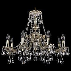 Подвесная люстра Bohemia Ivele CrystalБолее 6 ламп<br>Артикул - BI_1771_8_220_A_GW,Бренд - Bohemia Ivele Crystal (Чехия),Коллекция - 1771,Гарантия, месяцы - 24,Высота, мм - 620,Диаметр, мм - 690,Размер упаковки, мм - 640x640x320,Тип лампы - компактная люминесцентная [КЛЛ] ИЛИнакаливания ИЛИсветодиодная [LED],Общее кол-во ламп - 8,Напряжение питания лампы, В - 220,Максимальная мощность лампы, Вт - 40,Лампы в комплекте - отсутствуют,Цвет плафонов и подвесок - неокрашенный,Тип поверхности плафонов - прозрачный,Материал плафонов и подвесок - хрусталь,Цвет арматуры - золото беленое,Тип поверхности арматуры - глянцевый, рельефный,Материал арматуры - латунь,Возможность подлючения диммера - можно, если установить лампу накаливания,Форма и тип колбы - свеча ИЛИ свеча на ветру,Тип цоколя лампы - E14,Класс электробезопасности - I,Общая мощность, Вт - 320,Степень пылевлагозащиты, IP - 20,Диапазон рабочих температур - комнатная температура,Дополнительные параметры - способ крепления светильника к потолку - на крюке, указана высота светильника без подвеса<br>