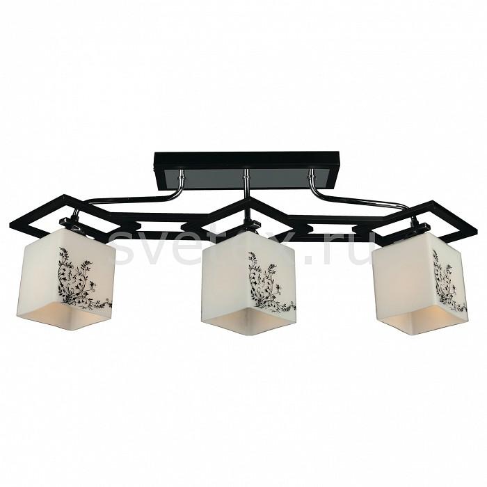 Потолочная люстра OmniluxЛюстры<br>Артикул - OM_OML-39107-03,Бренд - Omnilux (Италия),Коллекция - OML-391,Гарантия, месяцы - 24,Время изготовления, дней - 1,Длина, мм - 720,Ширина, мм - 150,Высота, мм - 260,Тип лампы - компактная люминесцентная [КЛЛ] ИЛИнакаливания ИЛИсветодиодная [LED],Общее кол-во ламп - 3,Напряжение питания лампы, В - 220,Максимальная мощность лампы, Вт - 60,Лампы в комплекте - отсутствуют,Цвет плафонов и подвесок - белый с черным рисунком,Тип поверхности плафонов - матовый,Материал плафонов и подвесок - стекло,Цвет арматуры - хром, черный,Тип поверхности арматуры - глянцевый,Материал арматуры - металл,Количество плафонов - 3,Возможность подлючения диммера - можно, если установить лампу накаливания,Тип цоколя лампы - E14,Класс электробезопасности - I,Общая мощность, Вт - 180,Степень пылевлагозащиты, IP - 20,Диапазон рабочих температур - комнатная температура<br>