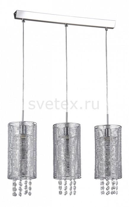 Подвесной светильник MaytoniПодвесные светильники<br>Артикул - MY_F008-33-N,Бренд - Maytoni (Германия),Коллекция - Fusion 9,Гарантия, месяцы - 24,Время изготовления, дней - 1,Длина, мм - 690,Ширина, мм - 130,Высота, мм - 1000,Тип лампы - компактная люминесцентная [КЛЛ] ИЛИнакаливания ИЛИсветодиодная [LED],Общее кол-во ламп - 3,Напряжение питания лампы, В - 220,Максимальная мощность лампы, Вт - 40,Лампы в комплекте - отсутствуют,Цвет плафонов и подвесок - неокрашенный, никель,Тип поверхности плафонов - глянцевый, прозрачный,Материал плафонов и подвесок - металл, хрусталь,Цвет арматуры - никель,Тип поверхности арматуры - глянцевый,Материал арматуры - металл,Количество плафонов - 3,Возможность подлючения диммера - можно, если установить лампу накаливания,Тип цоколя лампы - E14,Класс электробезопасности - I,Общая мощность, Вт - 120,Степень пылевлагозащиты, IP - 20,Диапазон рабочих температур - комнатная температура,Дополнительные параметры - диаметр плафона 130 мм.<br>