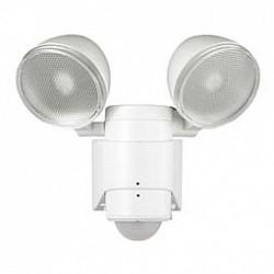 Настенный прожектор NovotechНастенные прожекторы<br>Артикул - NV_357344,Бренд - Novotech (Венгрия),Коллекция - Solar,Гарантия, месяцы - 24,Высота, мм - 209,Размер упаковки, мм - 210х230х170,Тип лампы - светодиодная [LED],Общее кол-во ламп - 2,Напряжение питания лампы, В - 3.7,Максимальная мощность лампы, Вт - 6,Лампы в комплекте - светодиодные [LED],Цвет плафонов и подвесок - белый, неокрашенный,Тип поверхности плафонов - матовый, прозрачный, рельефный,Материал плафонов и подвесок - полимер,Цвет арматуры - белый,Тип поверхности арматуры - матовый,Материал арматуры - полимер,Класс электробезопасности - III,Общая мощность, Вт - 12,Степень пылевлагозащиты, IP - 65,Диапазон рабочих температур - от - 20^C до +40^C,Дополнительные параметры - угол обнаружения: 130^C; диапазон: 8 метров в радиальном направлении; продолжительность свечения от 10 секунд до 1 минуты (регулируется)<br>