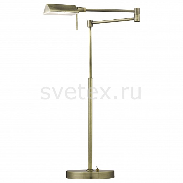 Фото Настольная лампа Arte Lamp G9 220В 33Вт 2800-3200 K Wizard A5665LT-1AB