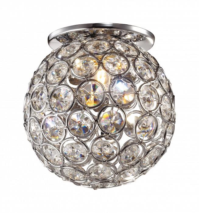Встраиваемый светильник NovotechХрустальные<br>Артикул - NV_369738,Бренд - Novotech (Венгрия),Коллекция - Elf,Гарантия, месяцы - 24,Время изготовления, дней - 1,Глубина, мм - 20,Диаметр, мм - 100,Размер врезного отверстия, мм - 60,Тип лампы - галогеновая ИЛИсветодиодная [LED],Общее кол-во ламп - 1,Напряжение питания лампы, В - 220,Максимальная мощность лампы, Вт - 40,Лампы в комплекте - отсутствуют,Цвет плафонов и подвесок - неокрашенный,Тип поверхности плафонов - прозрачный,Материал плафонов и подвесок - хрусталь,Цвет арматуры - хром,Тип поверхности арматуры - глянцевый,Материал арматуры - металл,Количество плафонов - 1,Возможность подлючения диммера - можно, если установить галогеновую лампу,Форма и тип колбы - пальчиковая,Тип цоколя лампы - G9,Экономичнее лампы накаливания - на 50%,Класс электробезопасности - I,Степень пылевлагозащиты, IP - 20,Диапазон рабочих температур - комнатная температура<br>