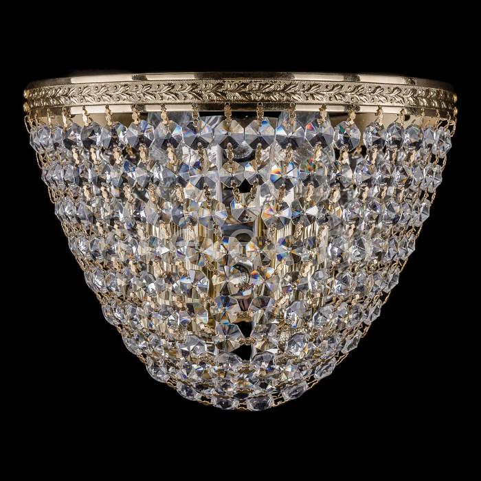 Фото Накладной светильник Bohemia Ivele Crystal 1925 1925/2/W/G