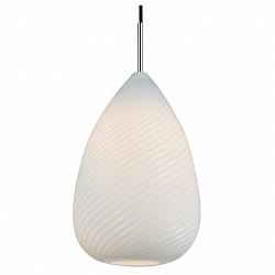 Подвесной светильник ST-LuceБарные<br>Артикул - SL704.103.01,Бренд - ST-Luce (Китай),Коллекция - SL704,Гарантия, месяцы - 24,Высота, мм - 300-1200,Диаметр, мм - 200,Размер упаковки, мм - 830х560х410,Тип лампы - компактная люминесцентная [КЛЛ] ИЛИнакаливания ИЛИсветодиодная [LED],Общее кол-во ламп - 1,Напряжение питания лампы, В - 220,Максимальная мощность лампы, Вт - 60,Лампы в комплекте - отсутствуют,Цвет плафонов и подвесок - белый,Тип поверхности плафонов - глянцевый,Материал плафонов и подвесок - стекло,Цвет арматуры - хром,Тип поверхности арматуры - глянцевый,Материал арматуры - металл,Возможность подлючения диммера - можно, если установить лампу накаливания,Тип цоколя лампы - E27,Класс электробезопасности - I,Степень пылевлагозащиты, IP - 20,Диапазон рабочих температур - комнатная температура,Дополнительные параметры - регулируется по высоте, способ крепления светильника к потолку – на монтажной пластине<br>