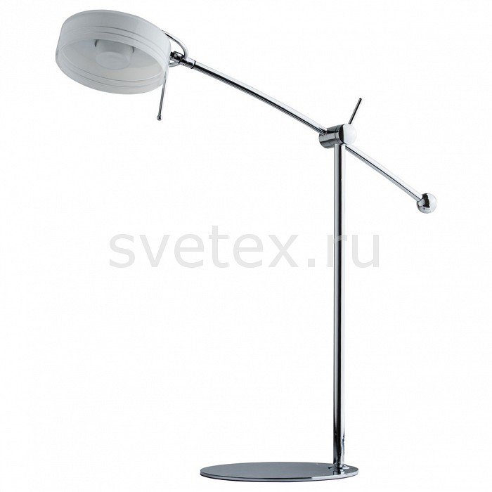 Настольная лампа MW-LightНстольные светильник для маникюра<br>Артикул - MW_631030401,Бренд - MW-Light (Германия),Коллекция - Ракурс 2,Гарантия, месяцы - 12,Ширина, мм - 200,Высота, мм - 650,Выступ, мм - 500,Размер упаковки, мм - 130x240x710,Тип лампы - светодиодная [LED],Общее кол-во ламп - 1,Напряжение питания лампы, В - 220,Максимальная мощность лампы, Вт - 5,Цвет лампы - белый,Лампы в комплекте - светодиодная [LED],Цвет плафонов и подвесок - белый,Тип поверхности плафонов - матовый,Материал плафонов и подвесок - стекло,Цвет арматуры - хром,Тип поверхности арматуры - глянцевый,Материал арматуры - металл,Количество плафонов - 1,Наличие выключателя, диммера или пульта ДУ - выключатель на проводе,Компоненты, входящие в комплект - провод электропитания с вилкой без заземления,Цветовая температура, K - 4000 K,Экономичнее лампы накаливания - в 15 раз,Класс электробезопасности - II,Степень пылевлагозащиты, IP - 20,Диапазон рабочих температур - комнатная температура,Дополнительные параметры - поворотный светильник<br>