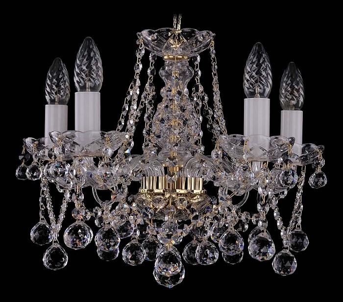 Фото Подвесная люстра Bohemia Ivele Crystal 1413 1413/5/141/G/Balls