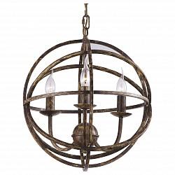 Подвесная люстра Arte LampНе более 4 ламп<br>Артикул - AR_A1703SP-3BR,Бренд - Arte Lamp (Италия),Коллекция - Kopernik,Высота, мм - 440-1140,Диаметр, мм - 400,Тип лампы - компактная люминесцентная [КЛЛ] ИЛИнакаливания ИЛИсветодиодная [LED],Общее кол-во ламп - 3,Напряжение питания лампы, В - 220,Максимальная мощность лампы, Вт - 40,Лампы в комплекте - отсутствуют,Цвет арматуры - коричневый,Тип поверхности арматуры - матовый,Материал арматуры - металл,Возможность подлючения диммера - можно, если установить лампу накаливания,Форма и тип колбы - свеча ИЛИ свеча на ветру,Тип цоколя лампы - E14,Класс электробезопасности - I,Общая мощность, Вт - 120,Степень пылевлагозащиты, IP - 20,Диапазон рабочих температур - комнатная температура,Дополнительные параметры - способ крепления светильника к потолку – на монтажной пластине или крюке<br>